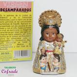 Virgen de los Desamparados Infantil 10 cm