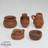 Pieza cerámica envejecida 7728