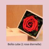 Cube rose éternelle