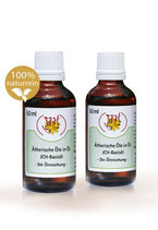 JCH-Basisöl 2x50ml inkl. 1 Synergie Pflanzenwelt (reicht für 2Fl. 50ml. Basisöl)