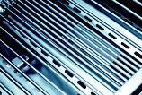 2 Stück HZ1BBQ V2A Grillroste + 6 Stück V4A Flammenverteiler für Broilking Regal 690 XL