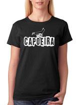 tee-shirt capoeira queda de rins  noir