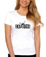 tee-shirt capoeira queda de rins  blanc