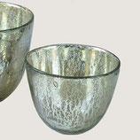 Bauernsilber Windlicht / Vase klein