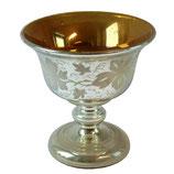 Bauernsilber - Pokal mit Weinranken