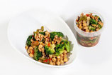 Kichererbsen-Nuss-Bowl mit Tofu (vegan)
