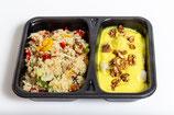 Quinoa Gemüsepfanne mit Blumenkohl (vegan)