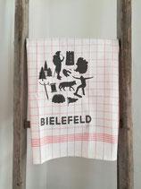 Geschirrtuch »Bielefeld–kariert«
