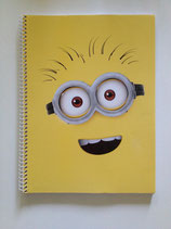 Minion Collegeblock Din A4