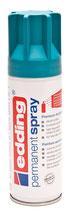 EDDING Acryllack Spray seidenmatt petrol