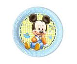Teller Mickey Mouse 8Stk.