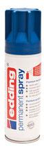 EDDING Acryllack Spray seidenmatt enzianblau