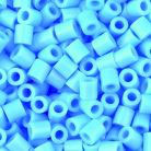 Bügelperlen, hellblau