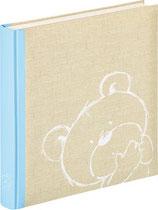 Fotobuch Baby Teddy blau