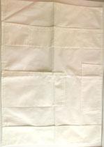 Wandbehang, Baumwolle, weiss