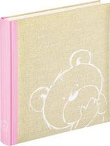 Fotobuch Baby Teddy rosa
