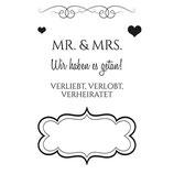 Stempel Clear, Hochzeit 04