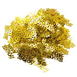 Deco-Konfetti Happy Birthday gold