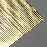 Wachsdekor Borte, Einfach 7mm, gold glänzend