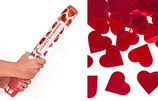 Konfetti- Shooter Herz rot