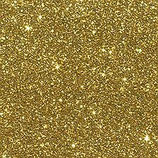 Glitterkarton, A4 gelb