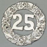 Wachsdekor Jubiläum, Kranz 25