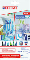 EDDING Porzellan-Pinselstifte 4200 Set 03