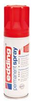 EDDING Acryllack Spray seidenmatt verkehrsrot