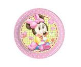 Teller Minnie Mouse 8Stk.