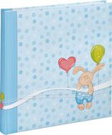 Fotobuch Baby kleiner Hase blau