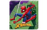 Serviette Spiderman 20Stk.