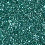 Glitterkarton, A4 türkis