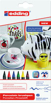 EDDING Porzellan-Pinselstifte 4200 Set 01