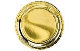Teller gold 6Stk.