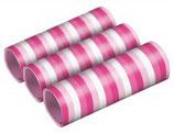 Luftschlangen rosatöne 3 Stk.