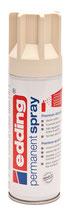 EDDING Acryllack Spray seidenmatt elfenbein