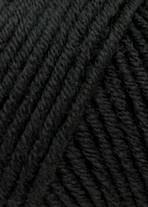 Lang Yarns Merino+ Farbe 004 Schwarz