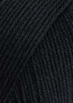 Lang Yarns Merino 150 –Farbe 04 Schwarz
