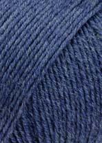 Lang Yarns Merino 150 –Farbe 234 Jeans Dunkel Mélange