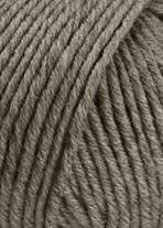 Lang Yarns Merino+ Farbe 296 Dunkelbeige Mélange