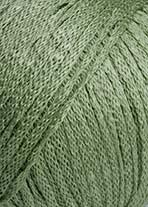 Lang Yarns Lino – Farbe 092 Salbei (fällt heller/blasser aus als abgebildet!)
