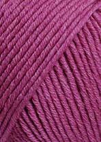 Lang Yarns Merino+ Farbe 265 Himbeere Melange