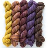 Manos del Uruguay Silk Blend Fino Minis Set: Irene