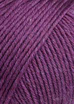 Lang Yarns Merino+ Farbe 366 Zyklame Mélange