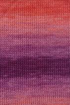 Lang Yarns Merino+ Color Farbe 061 Dunkelrot/Beere