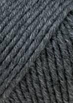 Lang Yarns Merino+ Farbe 270 Dunkelgrau Mélange