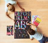 Sticker poster Alphabet