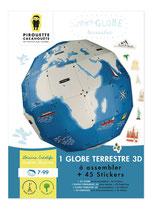 Globe terrestre 3D