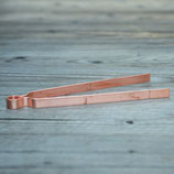 Kupferzange groß (ca. 19 cm Länge)