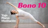 BONO 10 CLASES